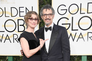Actors Katherine Borowitz and John Turturro attend the 74th Annual Golden Globe Awards at The Beverly Hilton Hotel on January 8, 2017 in Beverly Hills, California.
