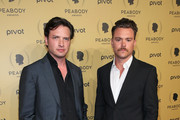 (L-R) Actors Aden Young and Clayne Crawford attend The 74th Annual Peabody Awards Ceremony at Cipriani Wall Street on May 31, 2015 in New York City.