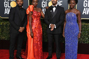 Ryan Coogler and Lupita Nyong'o Photos Photo