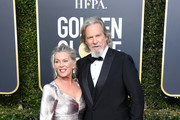 Susan Geston and Jeff Bridges attend the 76th Annual Golden Globe Awards at The Beverly Hilton Hotel on January 6, 2019 in Beverly Hills, California.