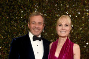 Journalist Willow Bay and Chief Executive Officer of Disney Bob Iger (L) attend the 76th Annual Golden Globe Awards at The Beverly Hilton Hotel on January 6, 2019 in Beverly Hills, California.