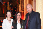M. Blair Breard., Pamela Adlon, and Louis C.K. pose with an award during The 76th Annual Peabody Awards Ceremony at Cipriani, Wall Street on May 20, 2017 in New York City.
