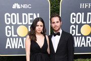 (L-R) Molly Gordon and Ben Platt attend the 77th Annual Golden Globe Awards at The Beverly Hilton Hotel on January 05, 2020 in Beverly Hills, California.
