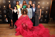 Image contains partial nudity.) Janet Mock, Dominique Jackson, Our Lady J, Mj Rodriguez, Alexis Martin Woodall Ryan Murphy, Steven Canals, Brad Simpson, Indya Moore, and Billy Porter pictured in the press room with the Peabody Award for POSE at the 78th Annual Peabody Awards Ceremony Sponsored By Mercedes-Benz at Cipriani Wall Street on May 18, 2019 in New York City.