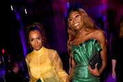 Janet Mock and Dominique Jackson inside the the 78th Annual Peabody Awards Ceremony Sponsored By Mercedes-Benz at Cipriani Wall Street on May 18, 2019 in New York City.