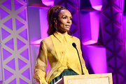 Janet Mock speaks onstage at the 78th Annual Peabody Awards Ceremony Sponsored By Mercedes-Benz at Cipriani Wall Street on May 18, 2019 in New York City.