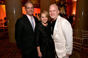 (L-R) John Molner, Katie Couric and Ryan Murphy? attend the 78th Annual Peabody Awards Ceremony Sponsored By Mercedes-Benz at Cipriani Wall Street on May 18, 2019 in New York City.