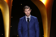 Liam McIntyre speaks onstage at the 7th AACTA International Awards at Avalon Hollywood in Los Angeles on January 5, 2018 in Hollywood, California.