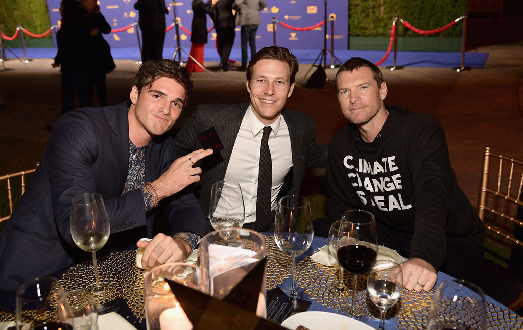 Sam Worthington Luke Bracey Jacob Elordi Luke Bracey And Jacob Elordi Photos 7th Annual Australians In Film Awards Gala Zimbio