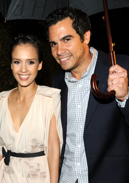 Jessica Alba with sexy, Husband Cash Warren