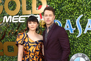 Ginnifer Goodwin and Josh Dallas attend the 7th Annual Gold Meets Golden at Virginia Robinson Gardens and Estate on January 04, 2020 in Los Angeles, California.
