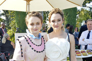 Joey King and Hunter King attend the 7th Annual Gold Meets Golden - Inside at Virginia Robinson Gardens and Estate on January 04, 2020 in Los Angeles, California.