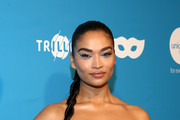 Shanina Shaik attends the 7th Annual UNICEF Masquerade Ball 2019 at Kimpton La Peer Hotel on October 26, 2019 in West Hollywood, California.