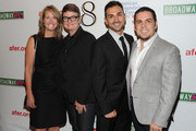 """Sandy Stier, Kris Perry, Paul Katami and Jeff Zarrillo attend the opening night of """"8"""" on Broadway at the Eugene O'Neill Theatre on September 19, 2011 in New York City."""