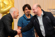 """(L-R) Directors Yaron Shani """"Ajami"""", Scandar Copti """"Ajami"""" and Juan Jose Campanella """"The Secret In Their Eyes"""" attend the Academy Awards Foreign Language Film Award directors photo op at the Kodak Theatre on March 5, 2010 in Hollywood, California."""