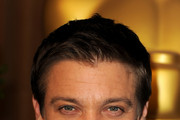 Actor Jeremy Renner arrives at the 83rd Academy Awards nominations luncheon held at the Beverly Hilton Hotel on February 7, 2011 in Beverly Hills, California.
