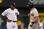 Melky Cabrera and Robinson Cano Photos Photo