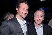 Actors Bradley Cooper and Robert De Niro attend the 85th Academy Awards Nominations Luncheon at The Beverly Hilton Hotel on February 4, 2013 in Beverly Hills, California.