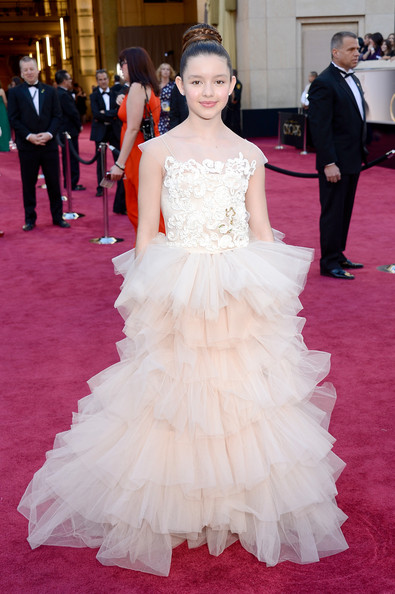 Dora The Explorer Star Fátima Ptacek Makes Her Oscars Debut 2013