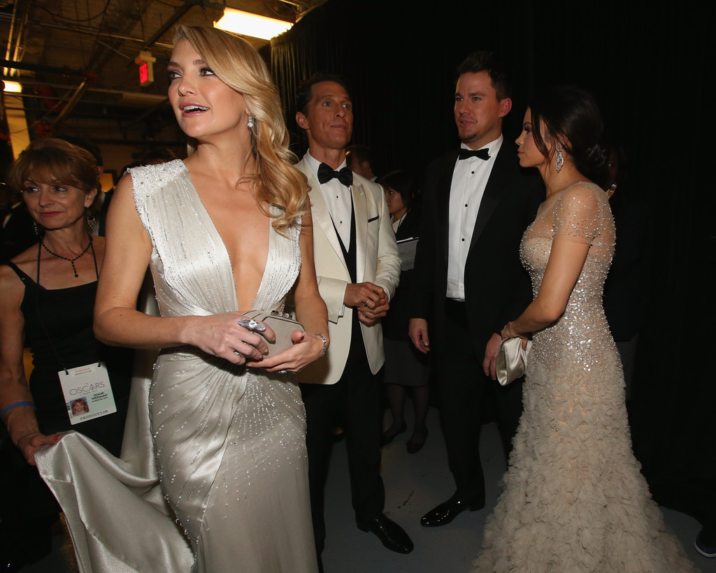 Kate Hudson and Channing Tatum Photos Photos - Backstage at the 86th ...
