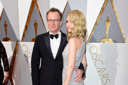 Filmmaker Tom McCarthy and Wendy Merry McCarthy attend the 88th Annual Academy Awards at Hollywood & Highland Center on February 28, 2016 in Hollywood, California.