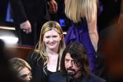 Musician Dave Grohl in the audience during the 88th Annual Academy Awards at the Dolby Theatre on February 28, 2016 in Hollywood, California.