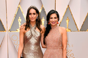 TV personalities Louise Roe (L) and Stacy London attend the 89th Annual Academy Awards at Hollywood & Highland Center on February 26, 2017 in Hollywood, California.
