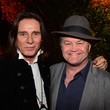 George Blodwell and Micky Dolenz