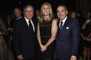 (L-R) Tony Bennett,  Susan Benedetto and Leonard Riggio attend the 8th Annual Exploring The Arts Gala on September 29, 2014 in New York City.