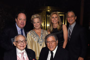 (L-R) James M. Nederlander, James L. Nederlander, Bette Midler, Tony Bennett, Susan Benedetto and Tony Danza attend the 8th Annual Exploring The Arts Gala on September 29, 2014 in New York City.
