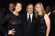 (L-R) Cheri Walsh, Tony Bennett and Susan Benedetto attend the 8th Annual Exploring The Arts Gala on September 29, 2014 in New York City.