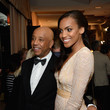 Ciera Foster and Russell Simmons