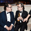 Gary Oldman and Joe Wright