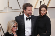 (L-R) Gloria Campano, Bradley Cooper and Irina Shayk attend the 91st Annual Academy Awards at Hollywood and Highland on February 24, 2019 in Hollywood, California.