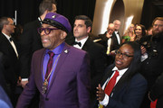 In this handout provided by A.M.P.A.S., Spike Lee poses with the Best Adapted Screenplay award for 'BlacKkKlansman' backstage during the 91st Annual Academy Awards at the Dolby Theatre on February 24, 2019 in Hollywood, California.
