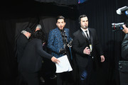 In this handout provided by A.M.P.A.S., Adam Lambert walks backstage during the 91st Annual Academy Awards at the Dolby Theatre on February 24, 2019 in Hollywood, California.