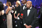 In this handout provided by A.M.P.A.S., John Lewis poses backstage during the 91st Annual Academy Awards at the Dolby Theatre on February 24, 2019 in Hollywood, California.