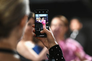 In this handout provided by A.M.P.A.S., A cell phone photo is taken of presenters Amy Poehler, Tina Fey and Maya Rudolph backstage during the 91st Annual Academy Awards at the Dolby Theatre on February 24, 2019 in Hollywood, California.