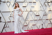 Retransmission with alternate crop.) Amy Adams attends the 91st Annual Academy Awards at Hollywood and Highland on February 24, 2019 in Hollywood, California.
