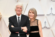 (L-R) Cinematographer Roger Deakins and script supervisor Isabella James Purefoy Ellis attend the 92nd Annual Academy Awards at Hollywood and Highland on February 09, 2020 in Hollywood, California.