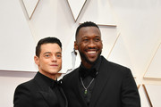 (L-R) Mahershala Ali and Rami Malek attend the 92nd Annual Academy Awards at Hollywood and Highland on February 09, 2020 in Hollywood, California.