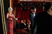 In this handout photo provided by A.M.P.A.S. Jane Fonda speaks onstage during the 92nd Annual Academy Awards at the Dolby Theatre on February 09, 2020 in Hollywood, California.