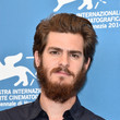 Andrew Garfield Rocks His Beard in Venice