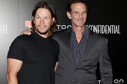 Mark Wahlberg and Peter Berg attend the 9th Hamilton Behind The Camera Awards at Exchange LA on November 6, 2016 in Los Angeles, California.