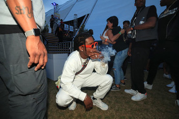 A$AP Rocky 2018 Coachella Valley Music And Arts Festival - Weekend 1 - Day 3