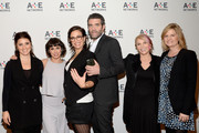 (L-R) Shiri Appleby, Constance Zimmer, Sarah Gertrude Shapiro, Craig Bierko, Marti Noxon and Carol Barbee attend the A+E Networks 2016 Television Critics Association Press Tour for UnREAL at The Langham Huntington Hotel and Spa on January 6, 2016 in Pasadena, California.