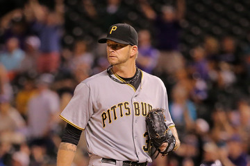 A.J. Burnett Pittsburgh Pirates v Colorado Rockies