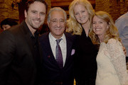 ABC's Nashville cast member Charles Esten, BMI's Del Bryant, Caroline Bryant and Patty Hanson attend A Tribute to Phil Everly to benifit COPD featuring Singer/Songwriter Paul Simon at the home of Sylvia Roberts on October 29, 2014 in Nashville, Tennessee.