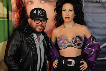 AB Quintanilla Madame Tussauds Hollywood's Selena Wax Figure Makes Special Appearance at the Walk of Fame Reception Celebrating Her Legacy