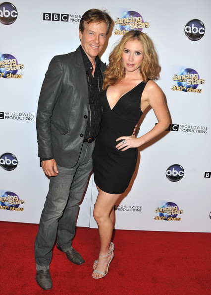 "Jack Wagner and Ashley Jones arrive at ABC's ""Dancing With The Stars ..."